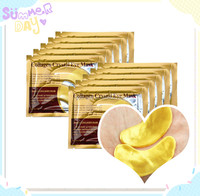 24k Gold Collagen Crystal Lint Free Under Eye Gel Patch Pad Eye Mask For Anti Aging,Anti Wrinkle