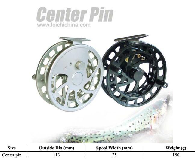 Perfect design chinese fishing center pin reel buy for Center pin fishing