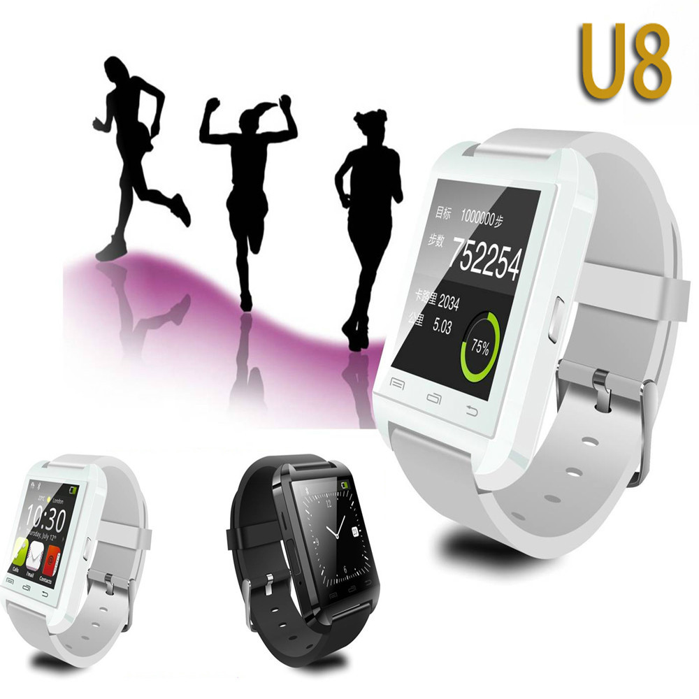 Bluetooth Smart Watch WristWatch U8 U Watch for Samsung S4/Note 2/Note 3 HTC LG Huawei Android Phone Smartphones Smart Watch