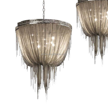 Modern Italian Decorative Lighting Chain Chandelier Light