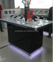 cheap mobile phone sales counters for shopping mall store