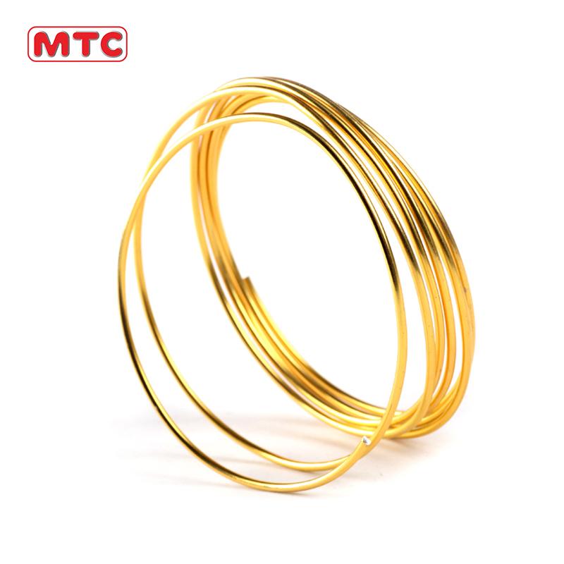 MTC Высококачественная цветная алюминиевая проволока для рукоделия для детей 1 мм-2 мм в наличии