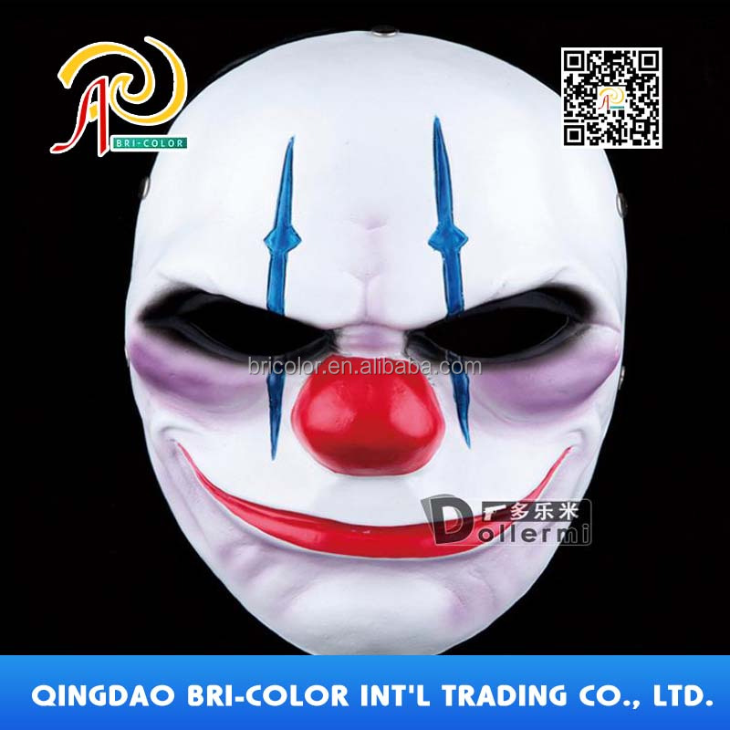 Top quality Payday 2 Halloween Cosplay Party Resin Mask