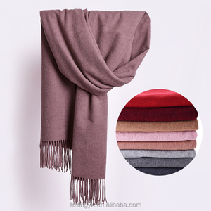 Best Selling Women Winter Wool Pashmina Scarf Shawl Plain Wool Shawl Wholesale 2017