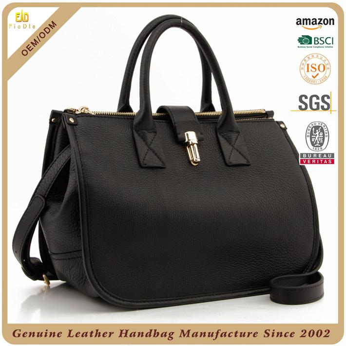 e5f5a123d5 2017 Trending Luxury Pebbled Women Genuine Leather Should Bag