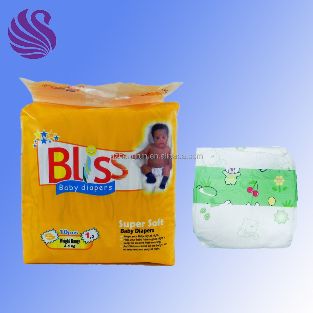 Blue chip diaper with Clothlike back sheet Sanitary Paper Personal Soft Care baby joy baby diapers in kenya