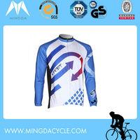 Men's long sleeve european cycling jersey