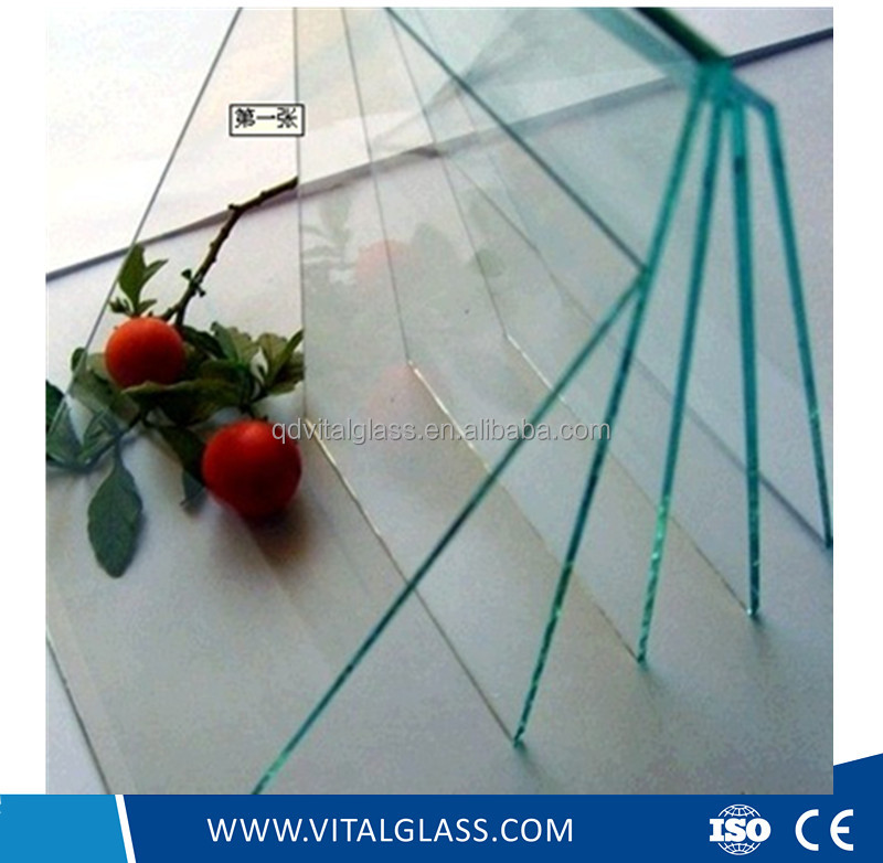 2 mm to 19 mm Clear Float Building Glass