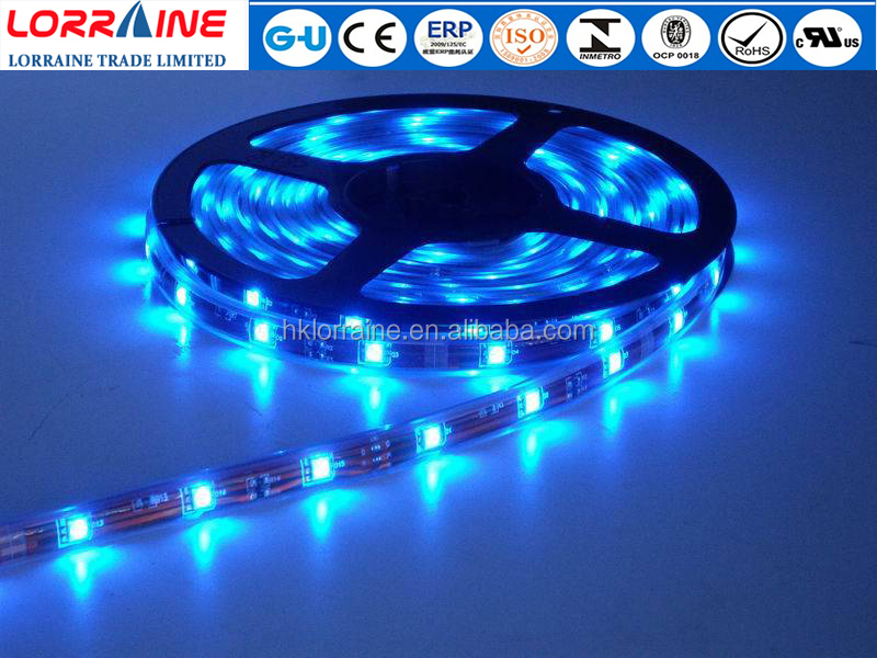 Hot selling IP65 silicone waterproof 24V TUV 5050 rgbw led strip