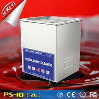 80W Mechanical Timer Ultrasonic Cleaner Circuit Board Hardware Accessories Cleaning Ultrasonic Cleaner 2l(Jeken PS-10)