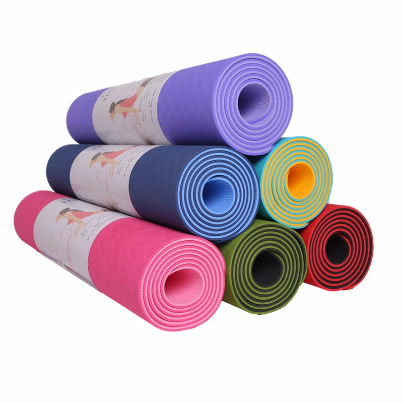 Dijual Hot Yoga Mat 7 Mm Di Bawah Akuarium Trainer Bike