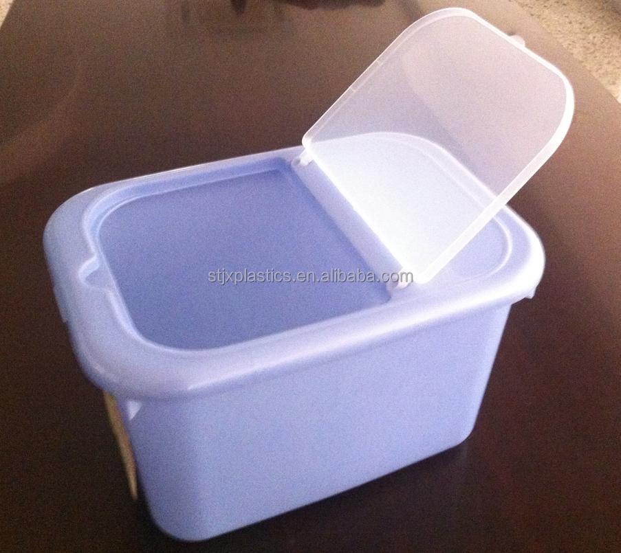 7.5L Flip Lid Rice Box Plastic Material Storage Container
