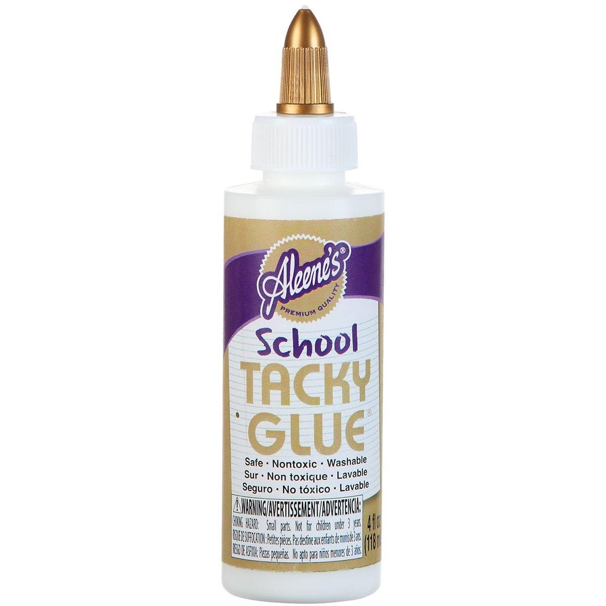 Aleene's School Tacky Glue, 4-Ounce