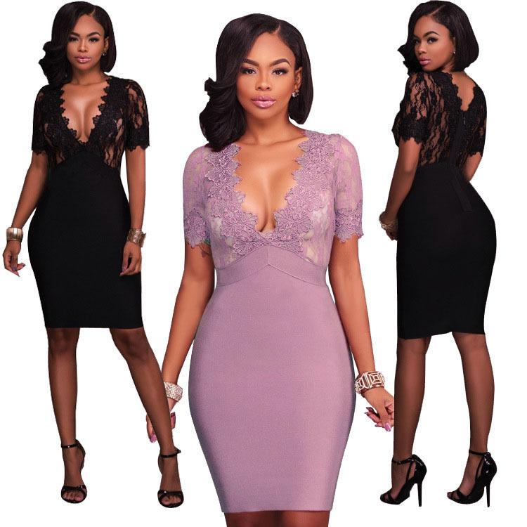 Venta al por mayor vestidos de coctel otoño-Compre online los ...