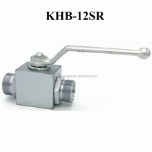 KHB -12SR Hydraulic Oil Station Pneumatic Actuated High Pressure Regulating Ball Valve
