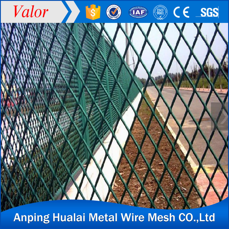 100% pure Galvanized sheel expanded wire mesh