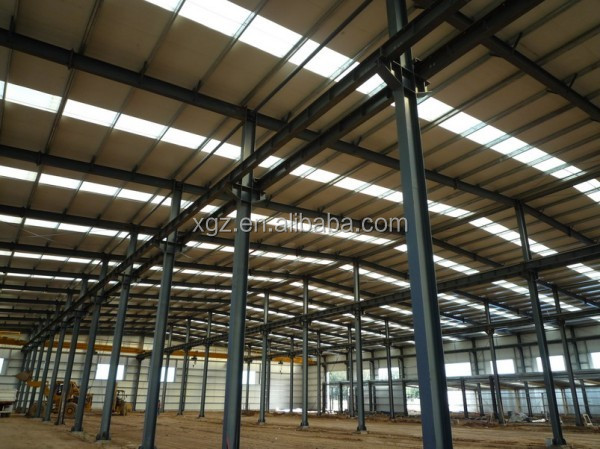 Recyclable steel structure warehouse