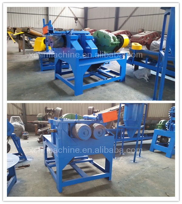 Rubber Tire/tyre Grinding Machine Tire Recycling Equipment For ...