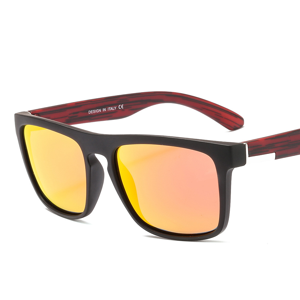 New Fashion Polarized Riding Sun Glasses Square Anti UV400 <strong>Custom</strong> Logo Sun <strong>Shade</strong>