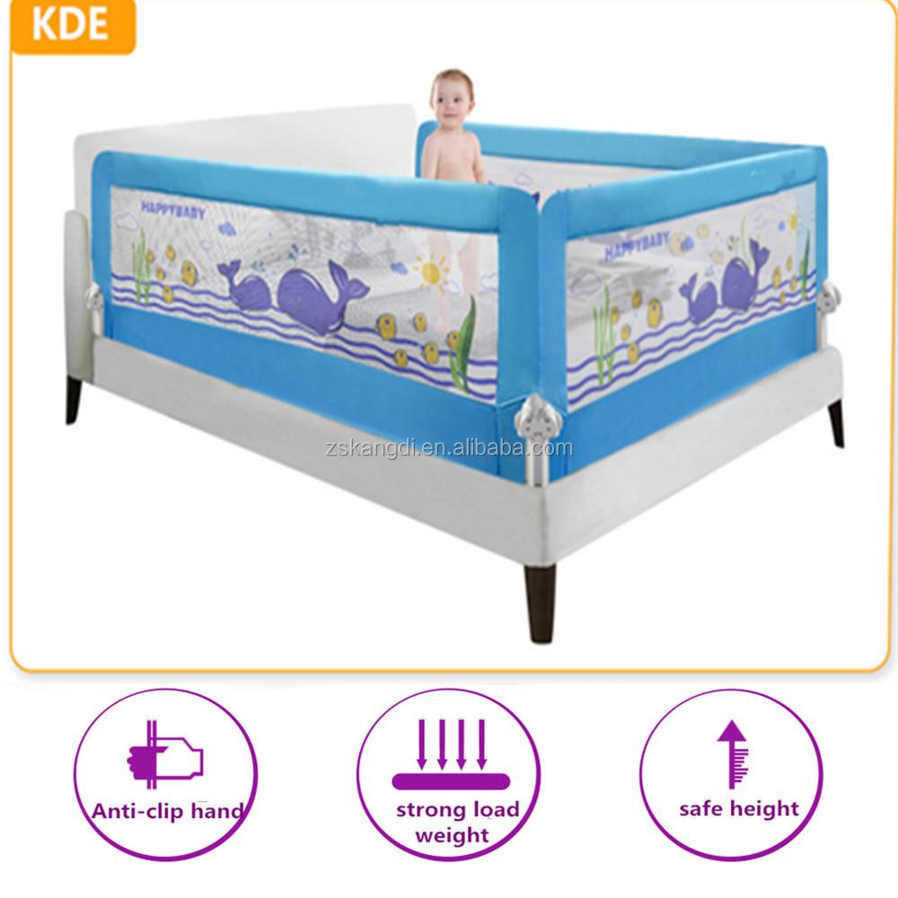 Bebé barandilla de la cama marco de la cama para cama king size ...