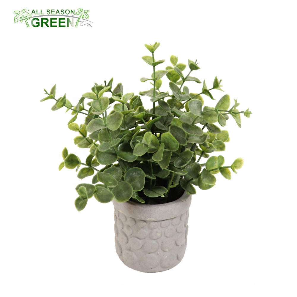 ASG European style mini ornamental artificial potted plants <strong>house</strong> <strong>home</strong> decoration green grass plant in pot