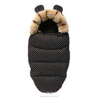 China Factory Price Winter Warm Baby Sleeping Bag For Baby Stroller Footmuff Toddler Newborn Holding Quilt