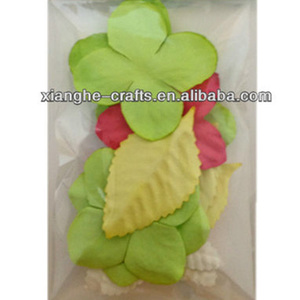 handmade paper craft paper flower petals for 3D greeting cards