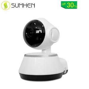 V380 HD 720P Mini IP Camera Wifi Camera Wireless P2P Security Surveillance Camera Night Vision IR Robot Baby Monitor Support 64G