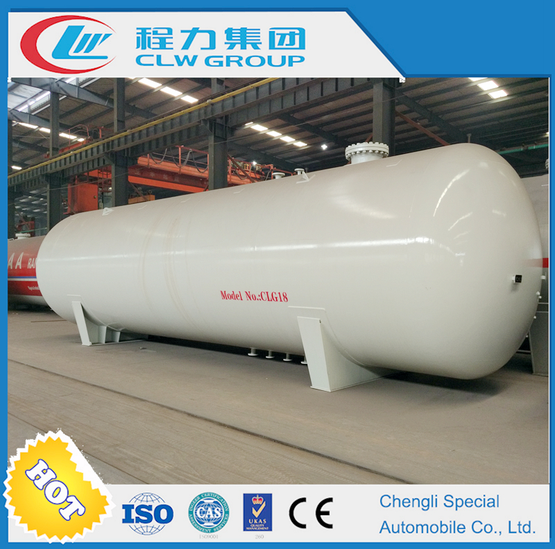 Factory direct sale lpg gas 20ton storage tanks ISO ASME