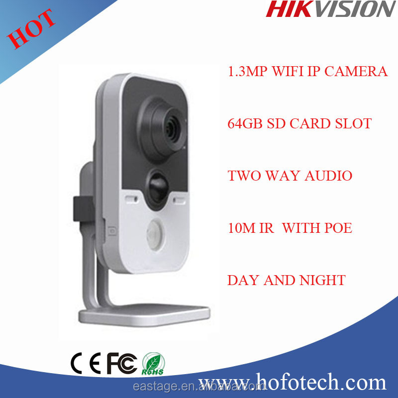 Hikvision 1.3MP mini wifi camera,ir camera,network camera