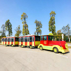 amusements park electric trackless train for sale tourist ride the train land train