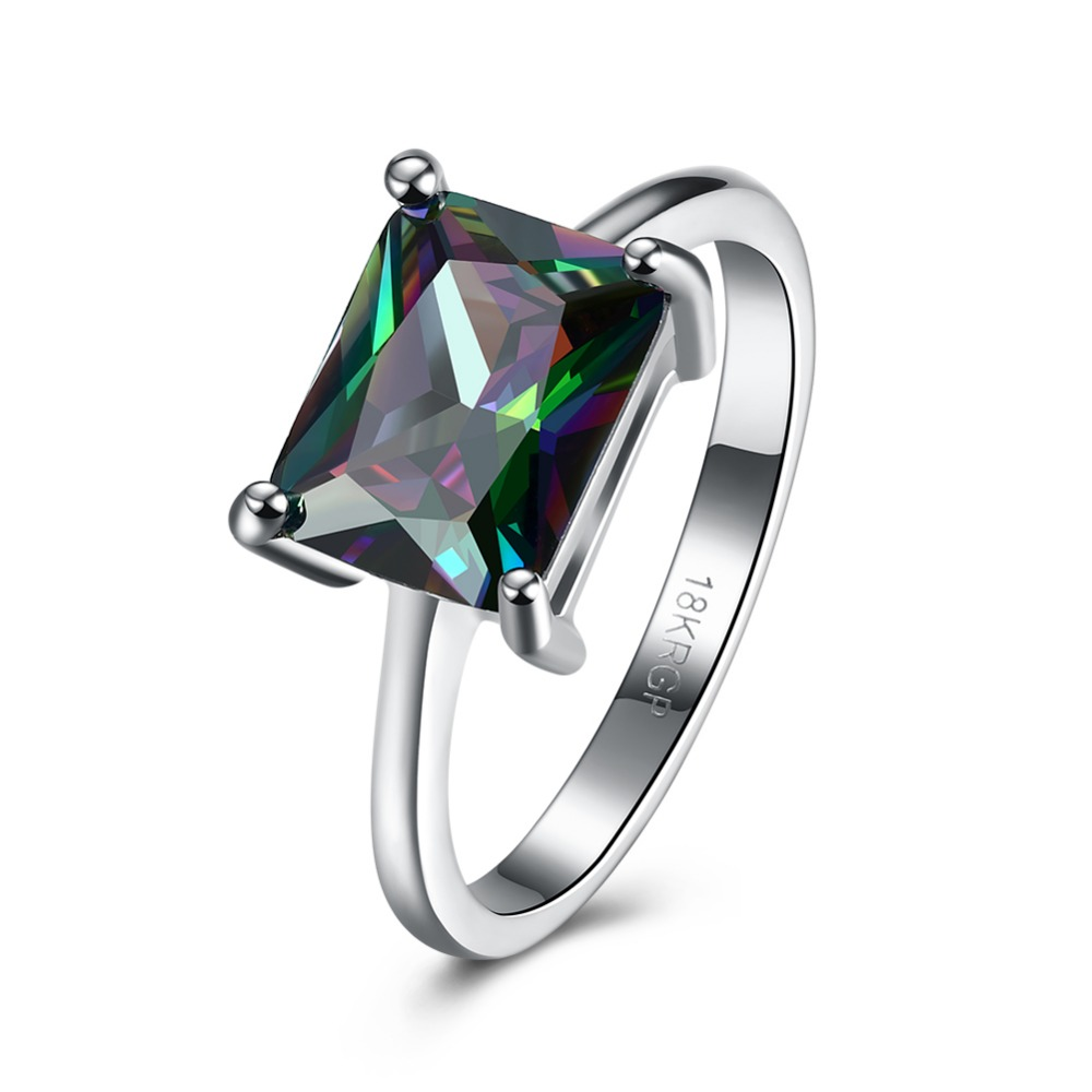 from silver ring hot in emerald for women mystic wedding sterling jewelry topaz engagement genuine cut rainbow natural fire item rings
