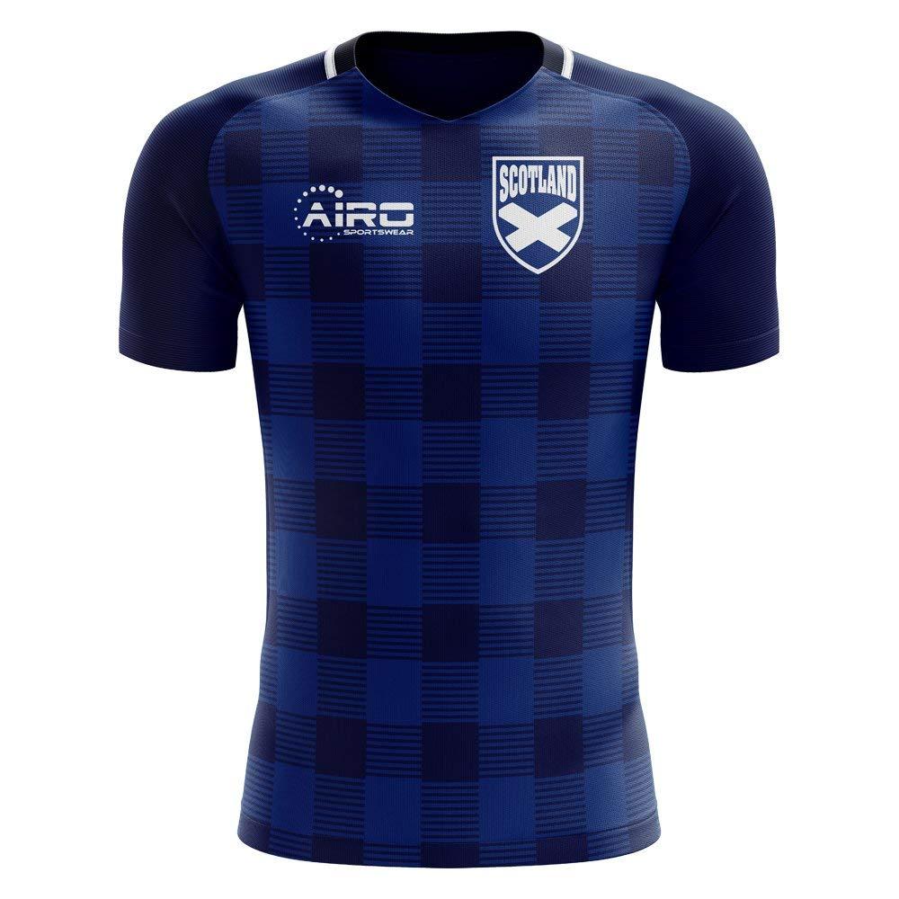 ae890f639 Get Quotations · Airo Sportswear 2018-2019 Scotland Tartan Concept Football  Shirt (Kids)