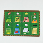 Preschool different sports ball wood puzzles