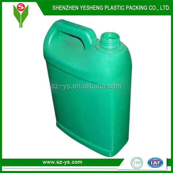 plastic used cooking oil storage container