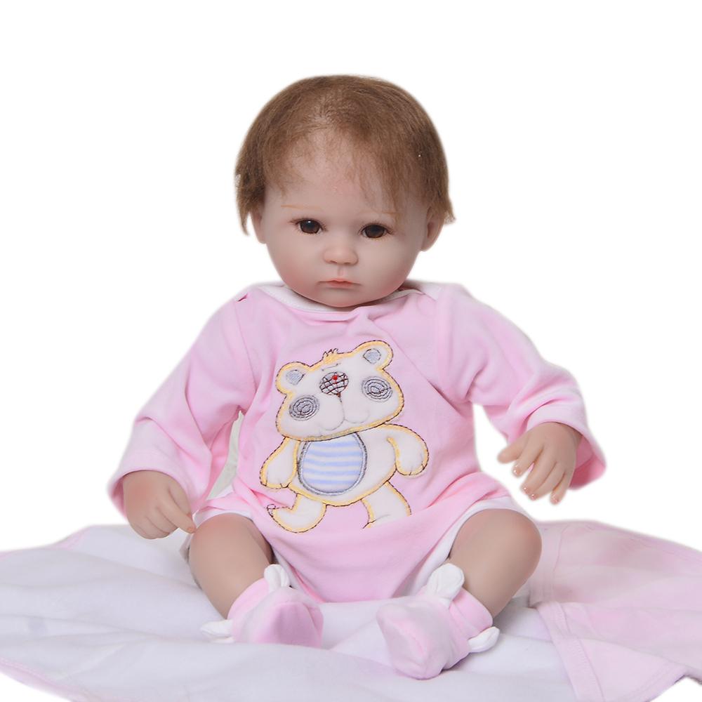 Bebe De Silicona Muñecas De Vinilo Hecho A Mano Realista Bebé Recién Nacido
