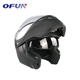 OFUN Wholesale Motorbike Accessories ABS Material Bluetooth Motorcycle Helmet
