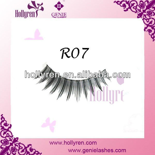 Hot False Eyelash Korea, Eyelash, Human Hair Eyelash