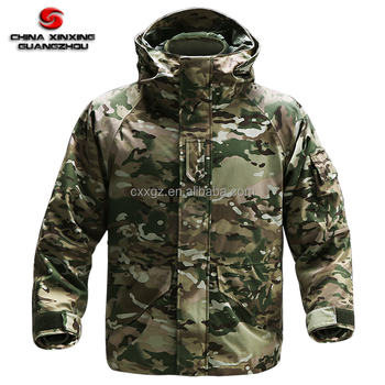 New Design Wind Resistant Cold Proof Men Winter Military Uniform Jacket