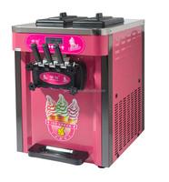 Soft ice cream machine, ice cream maker, ice cream making supplies