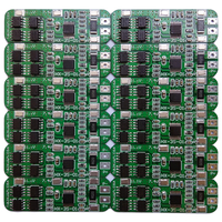 HX-3S-01 4 strings 6A 16V Li-ion Lithium 18650 BMS PCM Battery protect Board for li-ion lipo
