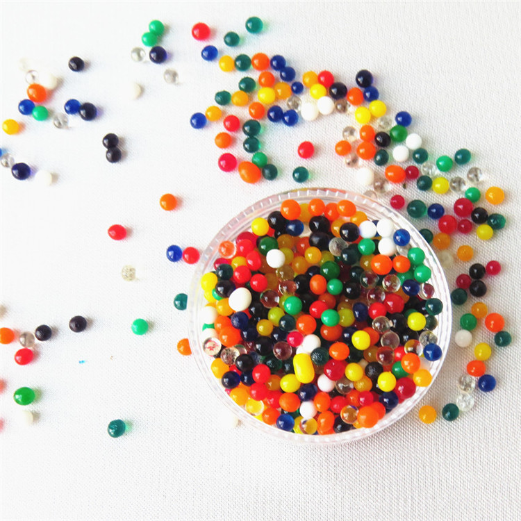 wholesales Coloful magic water gel beads Crystal soil for decoration