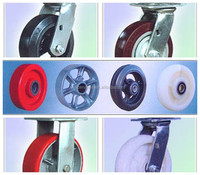 "heavy duty 6"" 8"" scaffolding caster wheels(with or without brake)"