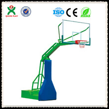 China newly designed adjustable basketball equipment/basketball hoops for sale/temper glass basketball accessories QX-141D