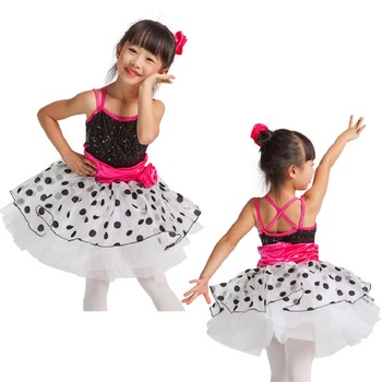 d8953fc45790 Top Selling Children Girls Ballet Tutu Dancing Dress Magic Pink ...