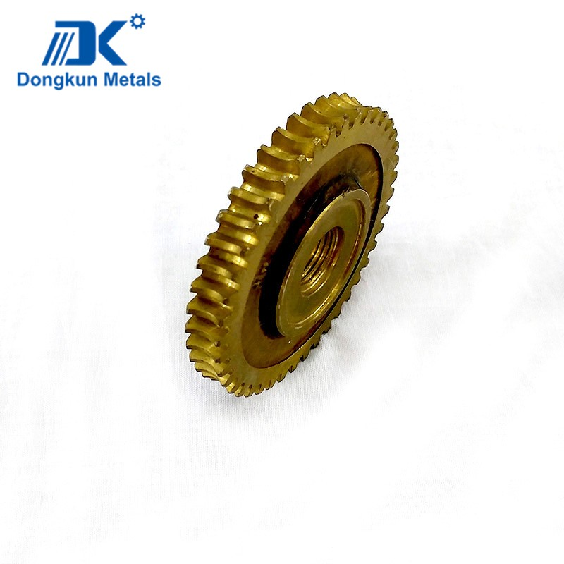 brass CNC Machining gear Service