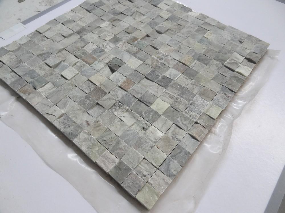 Baldosas de piedra patr n papel de contacto autoadhesiva for Papel imitacion piedra barato