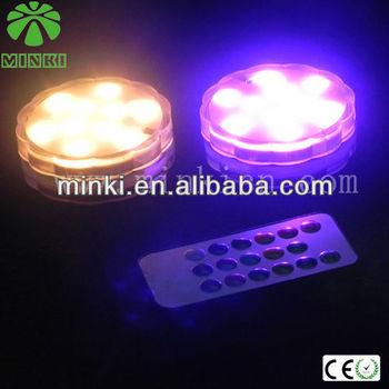 batterie betrieben ferngesteuerte led pool beleuchtung dekoration licht buy product on. Black Bedroom Furniture Sets. Home Design Ideas