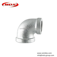 GI malleable iron pipe fittings reducing elbow