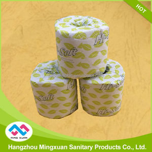 Decorative Custom Printed Toilet Paper Clean And Soft Roll